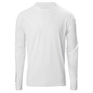 Insignia UV Fast Dry Long Sleeve T-Shirt, White, size L